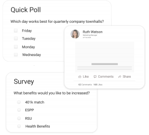 Polls, Surveys and Post