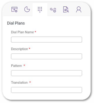 Direct Voice Routing - Dial Plans
