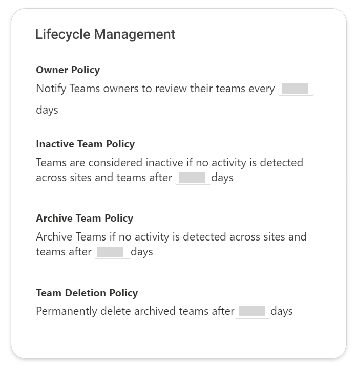 Automated Lifecycle management of Teams from TeamsHub by Cyclotron