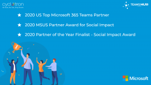 TeamsHub Award for Social Impact and Top Teams Partner